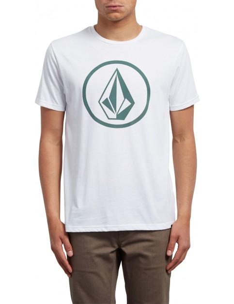 Volcom Circle Stone Short Sleeve T-Shirt in White