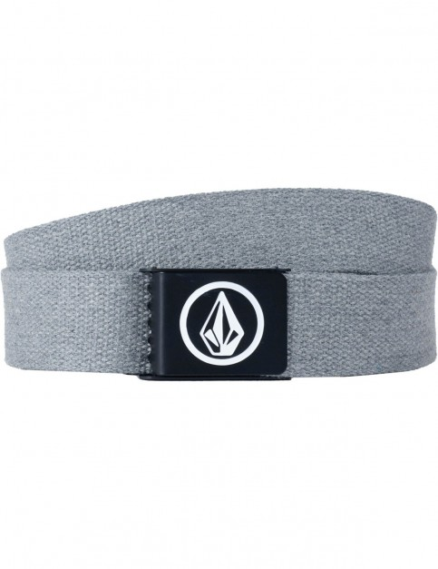 Volcom Circle Web Webbing Belt in Charcoal