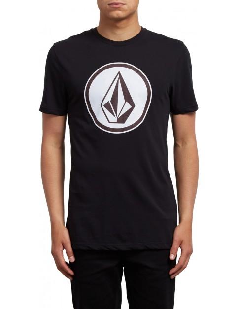 Volcom Classic Stone Short Sleeve T-Shirt in Black