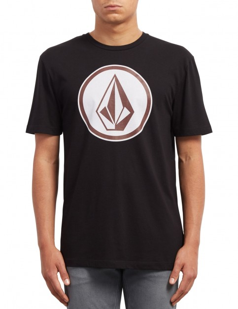 Volcom Classic Stone Short Sleeve T-Shirt in Black