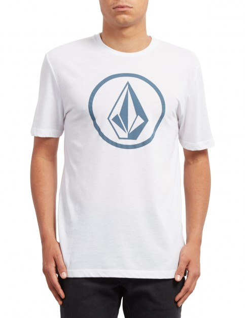 Volcom Classic Stone Short Sleeve T-Shirt in White