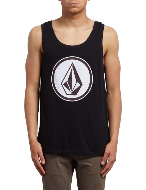Volcom Classic Stone Sleeveless T-Shirt in Black