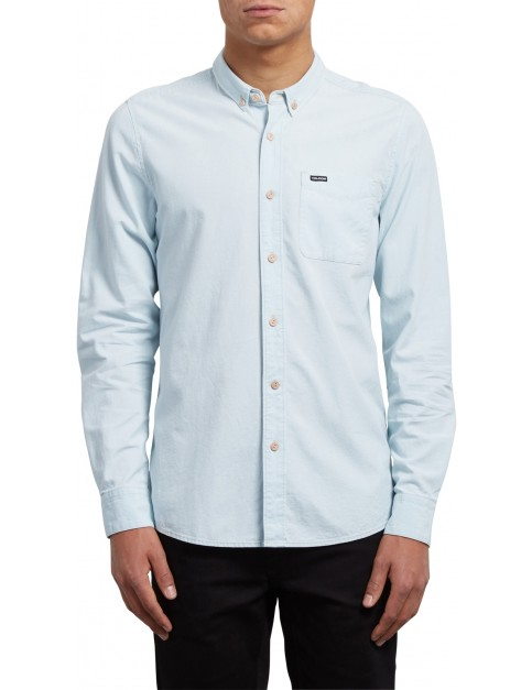 Volcom Clast Long Sleeve Shirt in Chlorine