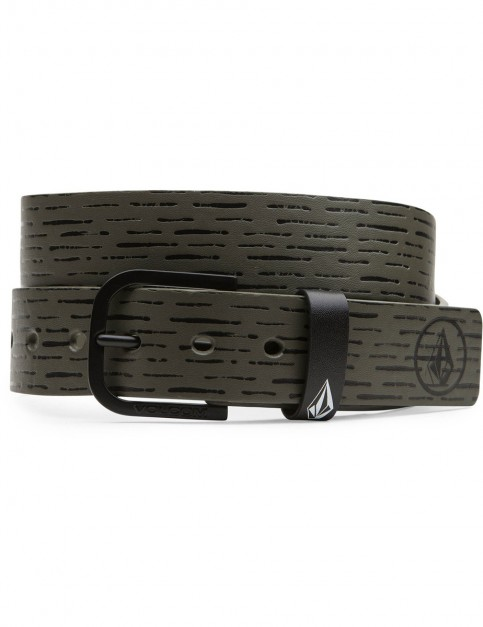Military Volcom Clone Faux Leather Belt