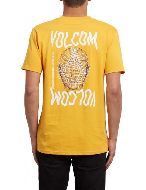 Volcom Conformity Short Sleeve T-Shirt in Tangerine