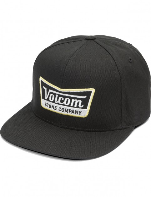Volcom Cresticle Cap in Black Top