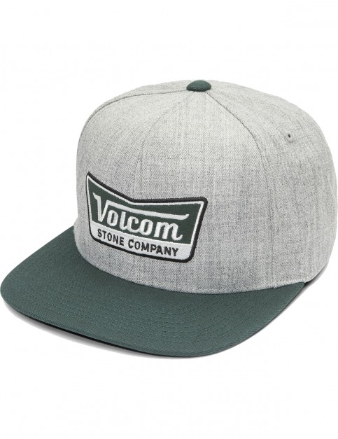 Volcom Cresticle Cap in Dark Pine