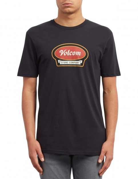 Volcom Cresticle Short Sleeve T-Shirt in Black