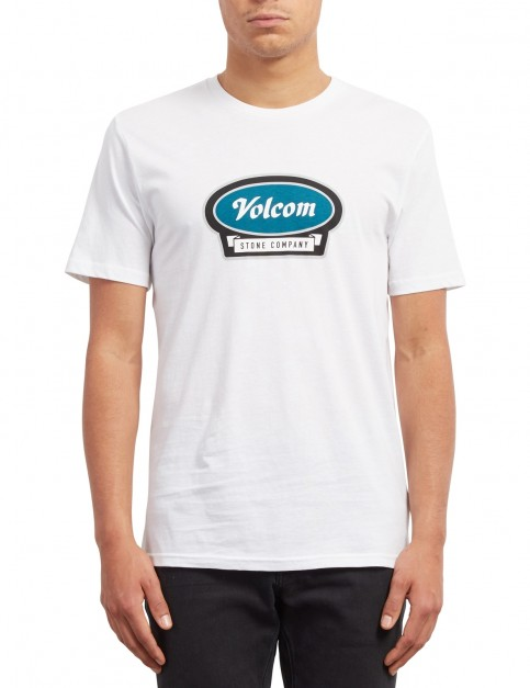Volcom Cresticle Short Sleeve T-Shirt in White