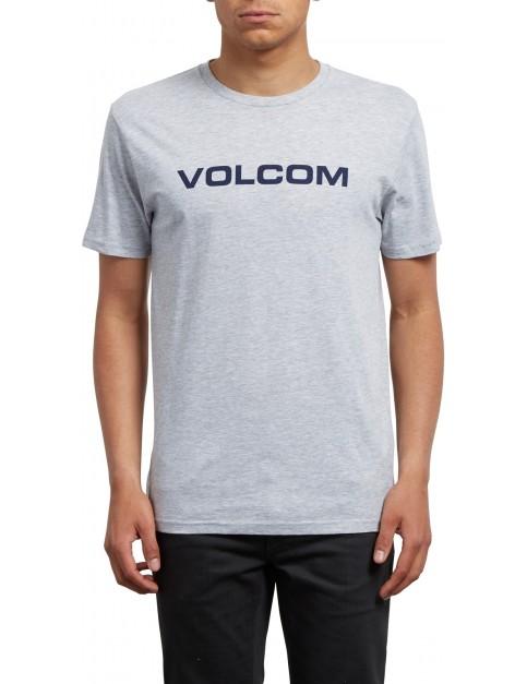 Volcom Crisp Euro Short Sleeve T-Shirt in Heather Grey