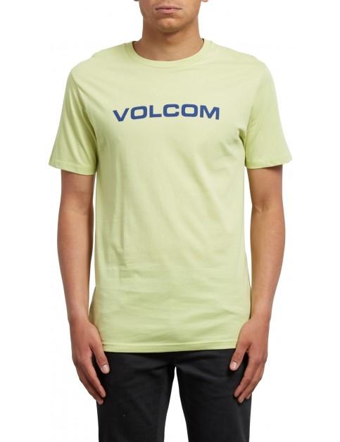 Volcom Crisp Euro Short Sleeve T-Shirt in Shadow Lime