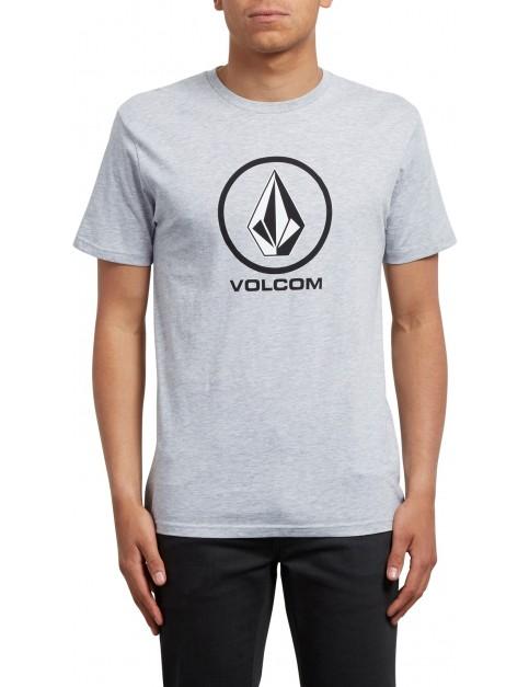 Volcom Crisp Short Sleeve T-Shirt in Heather Grey