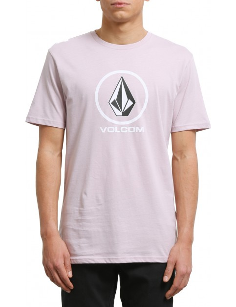 Volcom Crisp Stone Short Sleeve T-Shirt in Pale Rider