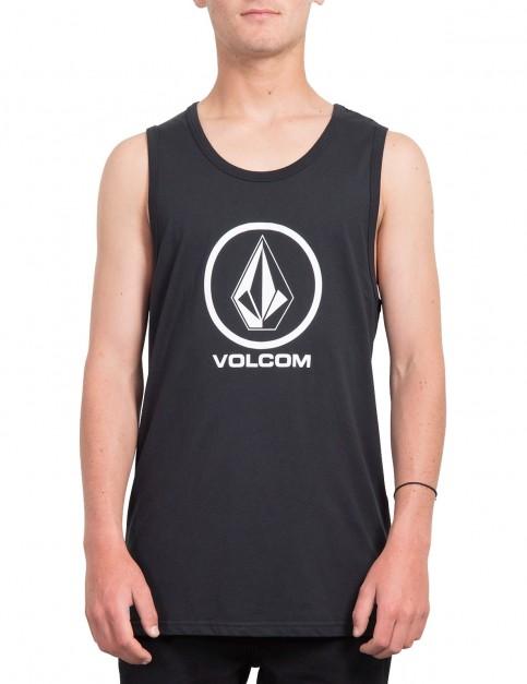 Volcom Crisp Stone Sleeveless T-Shirt in Black