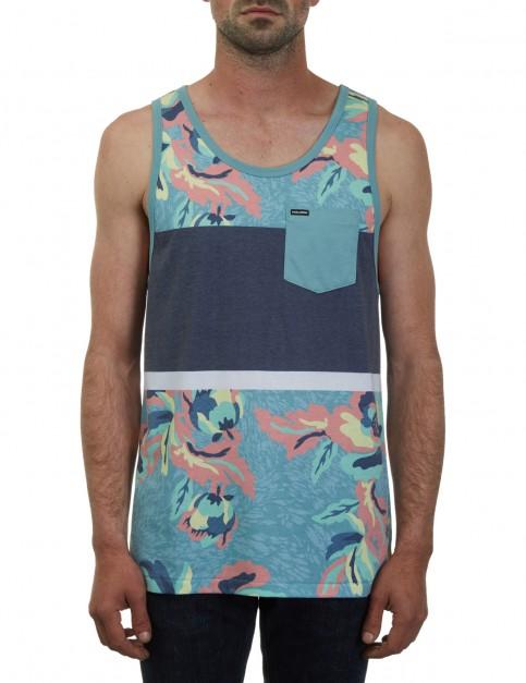 Volcom Cubano Sleeveless T-Shirt in Sea Blue