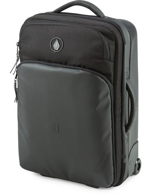 Volcom Daytripper Wheeled Luggage in Black