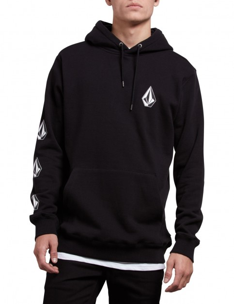 Volcom Deadly Stones Pullover Hoody in Black