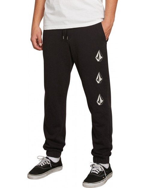 Volcom Deadly Stones Track Trousers in Black
