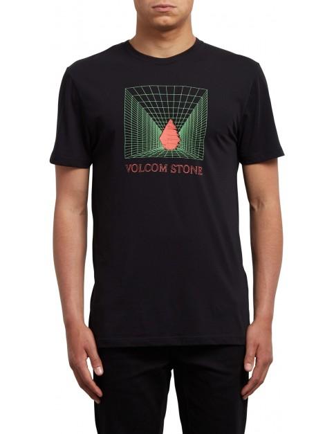 Volcom Digi Short Sleeve T-Shirt in Black