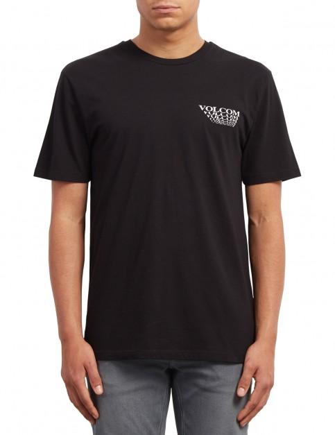 Volcom Digital Arms Short Sleeve T-Shirt in Black