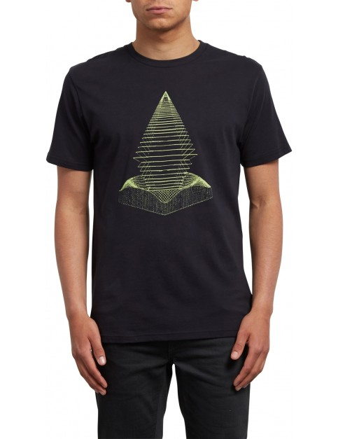 Volcom Digital Redux Short Sleeve T-Shirt in Black
