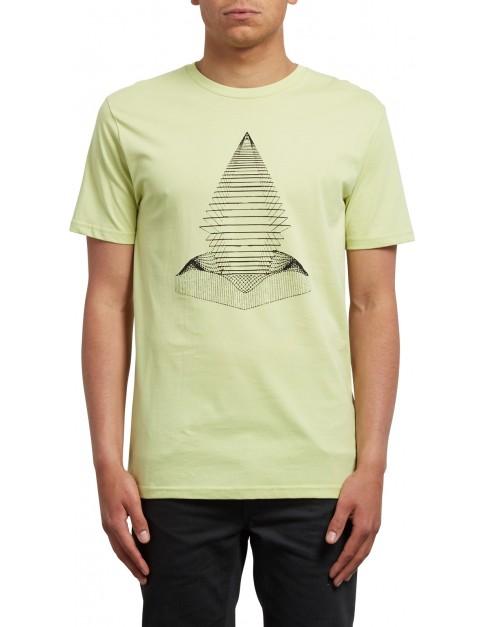 Volcom Digital Redux Short Sleeve T-Shirt in Shadow Lime