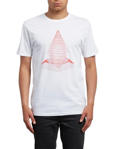 Volcom Digital Redux Short Sleeve T-Shirt in White