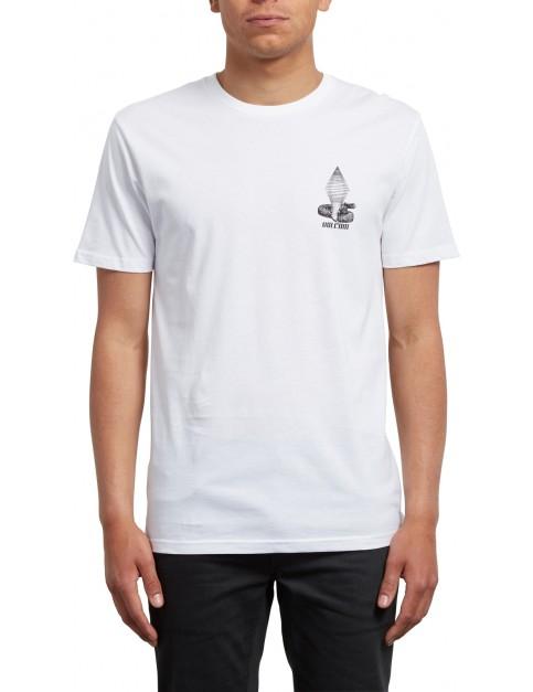 Volcom Digitalpoison Short Sleeve T-Shirt in White