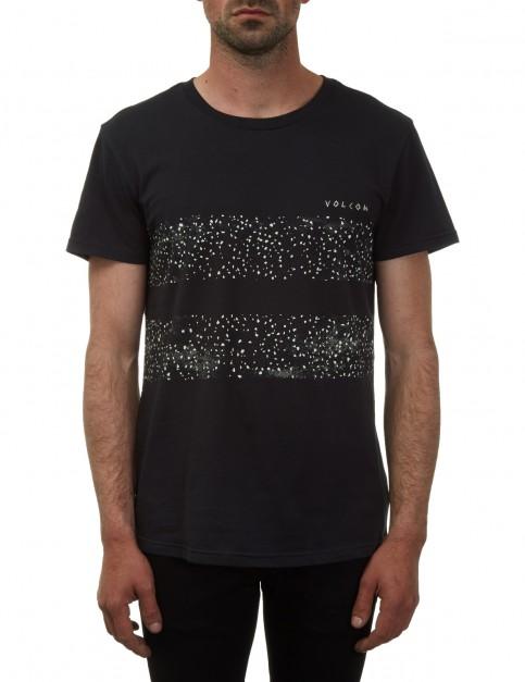 Volcom Dirty Sounds Short Sleeve T-Shirt in Black