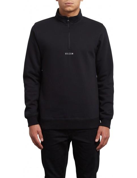 Volcom Dixon Mock Sweatshirt in Black