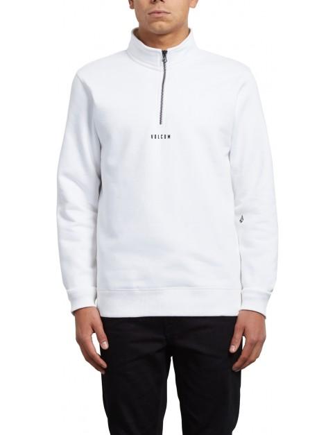 Volcom Dixon Mock Sweatshirt in White