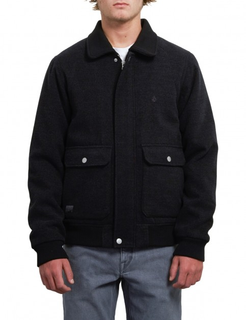 Volcom Domjohn Jacket in Black