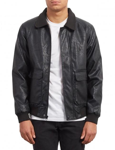 Volcom Domjohn Jacket in Black Combo