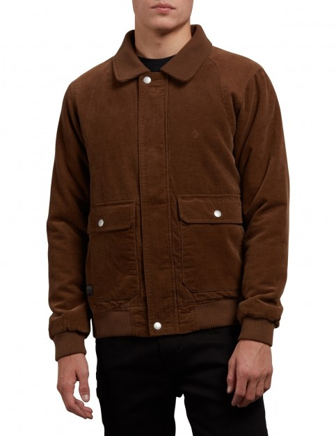 Volcom Domjohn Jacket in Mud
