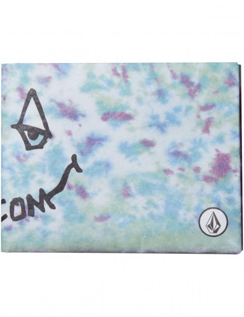 Volcom Drag Dot Fabric Wallet in Multi