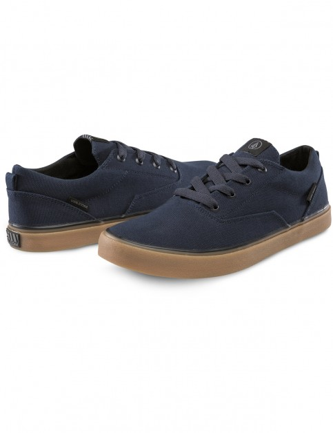 Volcom Draw Lo Trainers in Navy