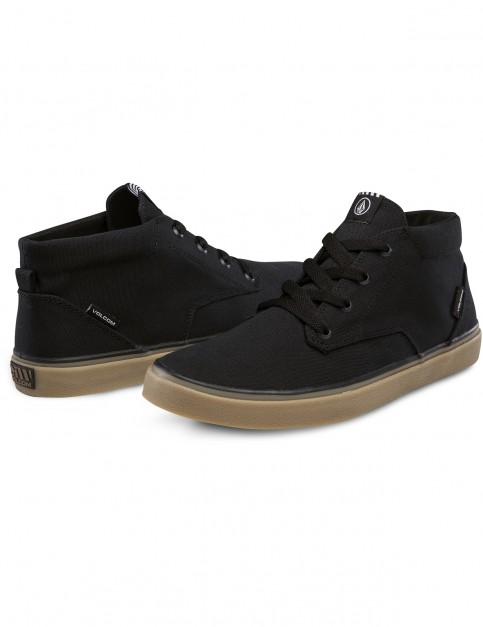 Volcom Draw Mid Trainers in Black
