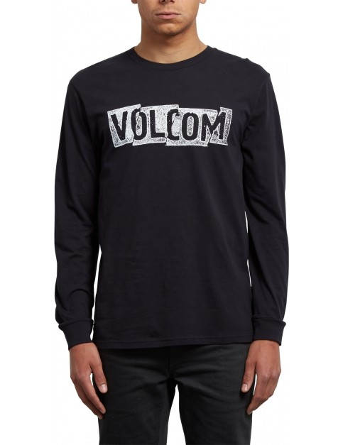 Volcom Edge Long Sleeve T-Shirt in Black