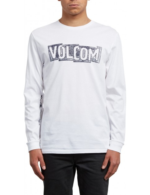 Volcom Edge Long Sleeve T-Shirt in White