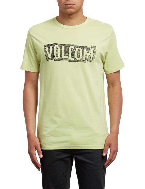 Volcom Edge Short Sleeve T-Shirt in Shadow Lime