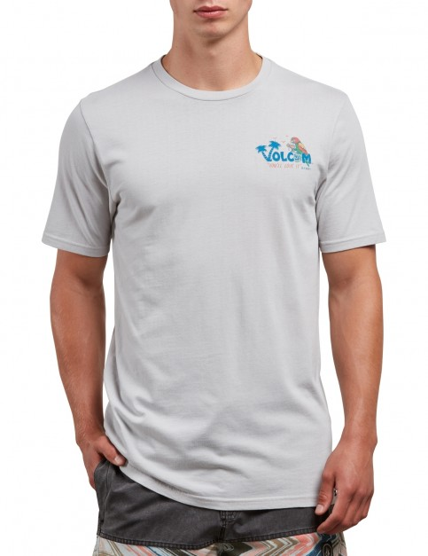 Volcom El Loro Loco Short Sleeve T-Shirt in Off White