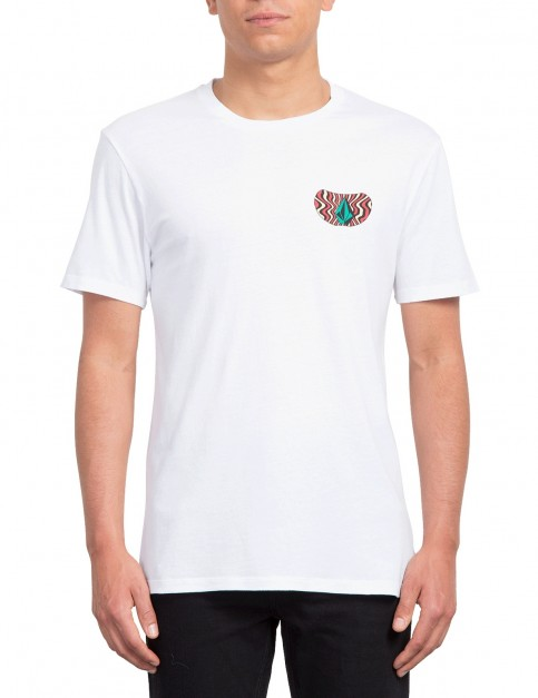 Volcom Elzo Durt Fa Short Sleeve T-Shirt in White