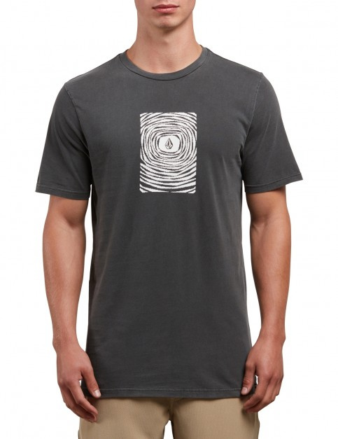 Volcom Engulf Short Sleeve T-Shirt in Black