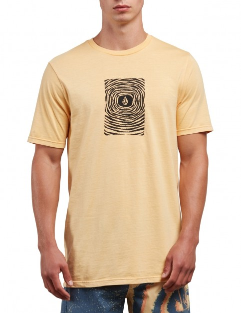 Volcom Engulf Short Sleeve T-Shirt in Sunburst