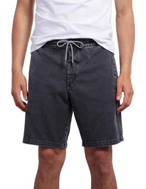 Volcom Flare Short Shorts in Black