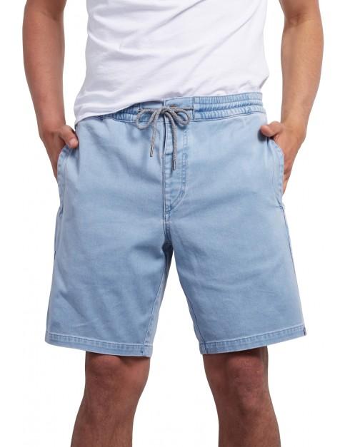 Volcom Flare Shorts in Wrecked Indigo