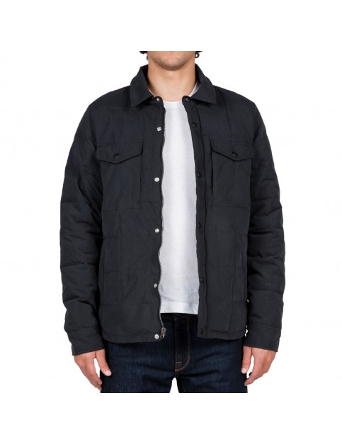Volcom Fleming Rain Jacket in Black