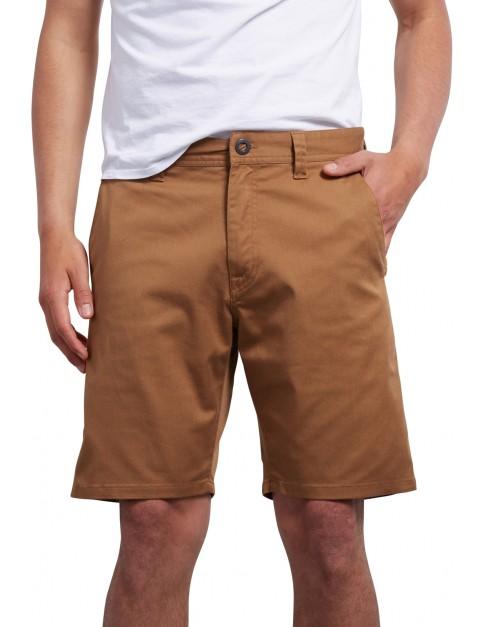 Volcom Frickin Modern 19 Shorts in Camel