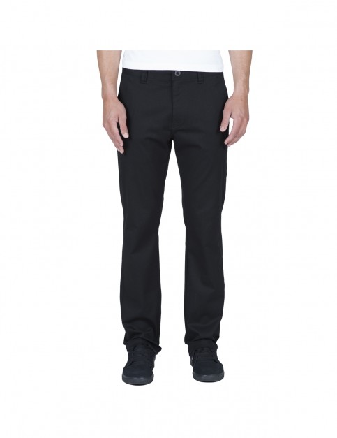 Volcom Frickin Modern Chino Trousers in Black