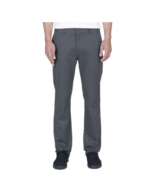 Volcom Frickin Modern Chino Trousers in Charcoal